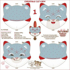 Nordic Cat Decorations 01