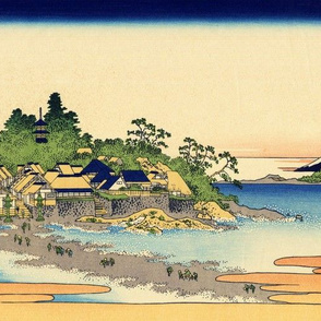 Enoshima in Sagami Province