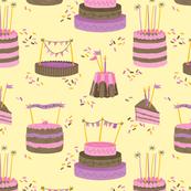 Birthday Party Girly - Cakes