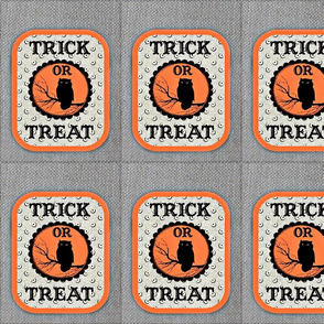 cloth Trick or Treat bag 1