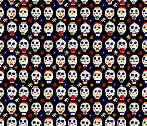 black dod fabric by kimmurton on Spoonflower - custom fabric