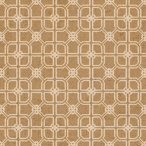 Maze - Tabacco fabric by kristopherk on Spoonflower - custom fabric