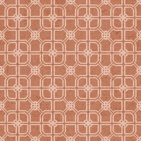 Maze - Orange fabric by kristopherk on Spoonflower - custom fabric