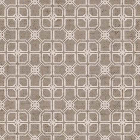 Maze - Natural fabric by kristopherk on Spoonflower - custom fabric
