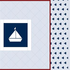 Nautical Quilt 36x36