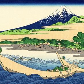 Shore of Tago Bay, Ejiri at Tōkaidō
