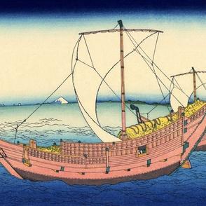 The Kazusa Province sea route