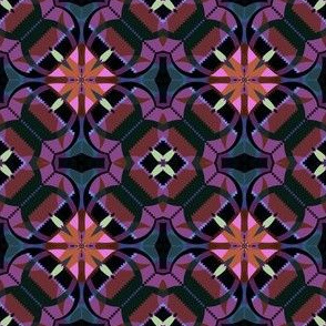 Purple and Pink Kaleidoscope Small