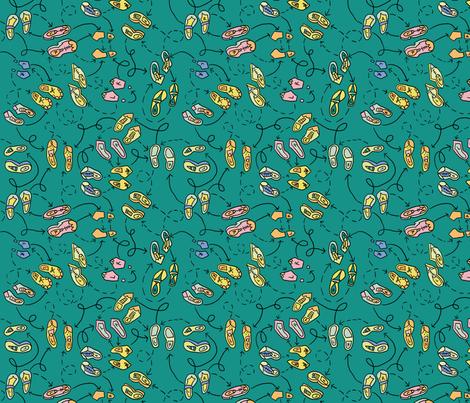 dilly dalian brenna fabric by dillydalian on Spoonflower - custom fabric