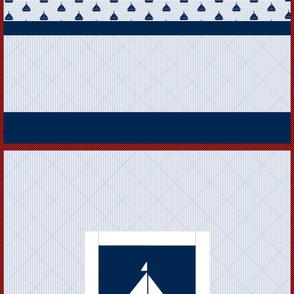 Nautical Quilt 42x42