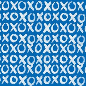 XOXO indigo