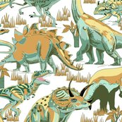 Rdinosaurs_teals_and_golds_on_white_shop_thumb
