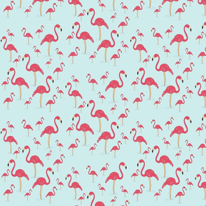 Flamingo turkos