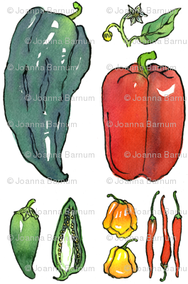 Botanical Peppers