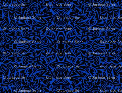Running with scissors black/blue