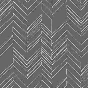 Outline Gray/White