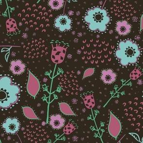 Naif Art Floral