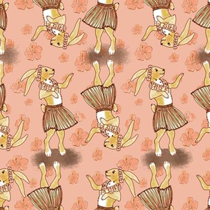 Hula Bunny 2