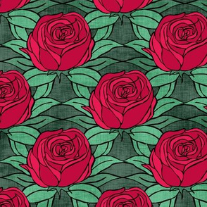 Roses in Red