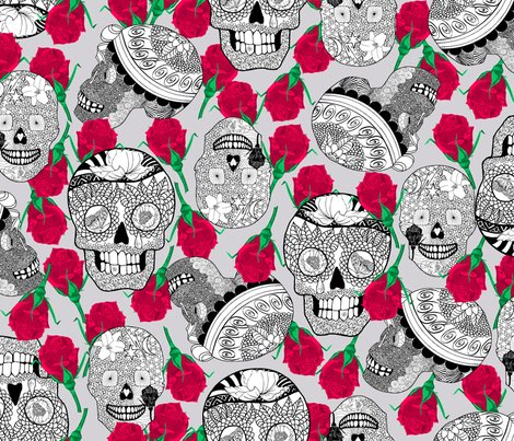 Rcalaveras_black_and_white_with_red_roses_on_dusty_lilace_shop_preview