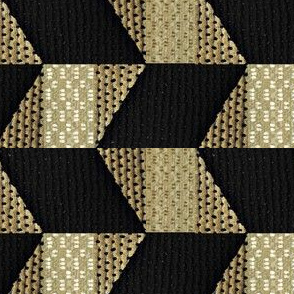 Patch Quilt - black, beige