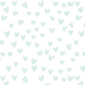 cestlaviv_frenchminthearts for suuze (mint on white) mini 7x7
