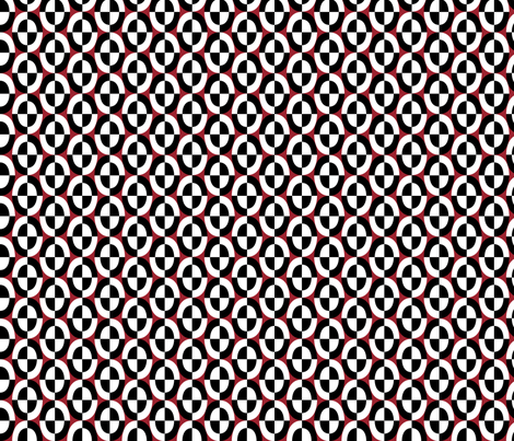 bw_dbl_oval_red fabric by glimmericks on Spoonflower - custom fabric