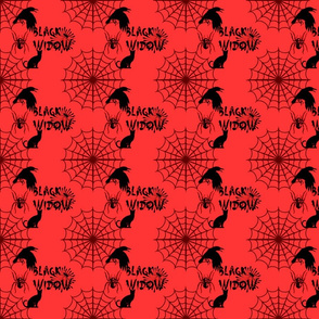 BLACK WIDOW RED