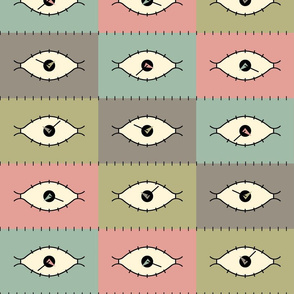 Modern Eye Clock 2