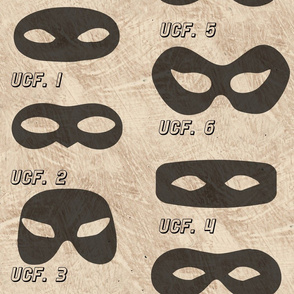 Superhero Eye Masks