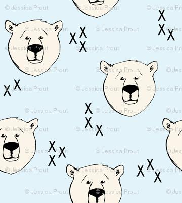 Polar Bear // blue