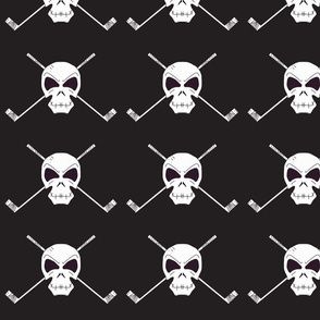 Skull & Sticks black