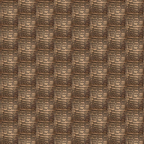 African Textile Design Fabric