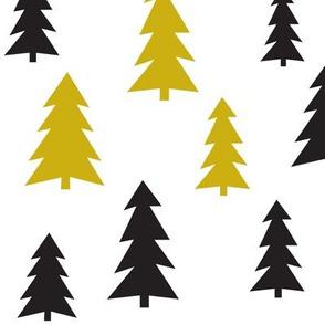 fir tree mustard - elvelyckan design