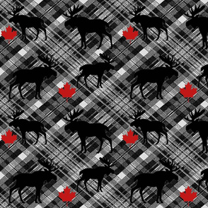 MAPLE MOOSE PLAID