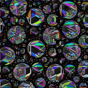 Kaleidoscope Bubbles