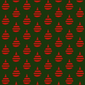 Holiday Pears Red Green