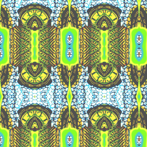 More Stripes of Africa fabric by robin_rice on Spoonflower - custom fabric