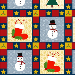Christmas Cheater Quilt