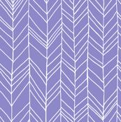 Featherland LARGE Purple/White