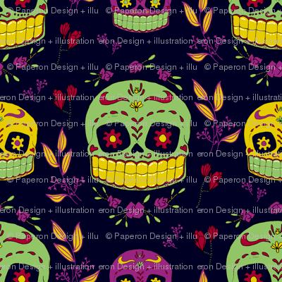 Calaveras Sugar Skull