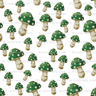 Mini Mushroom, Magic Green