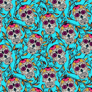 Viney Calaveras Aqua