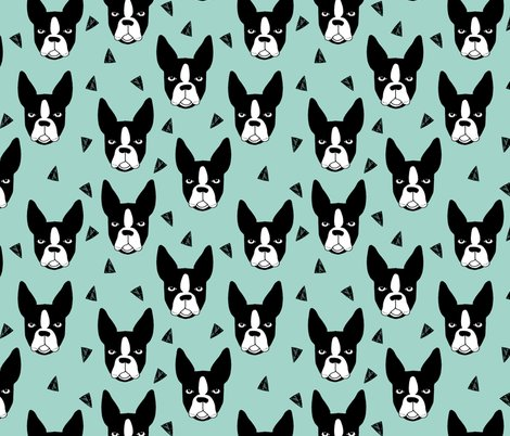 DESIGN Rbt Pt Shop Preview Boston Terrier Mint