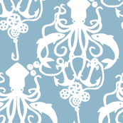 Squid Damask