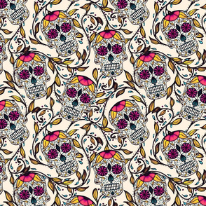 Viney Calaveras White