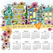 2015 Calendar by Teafly