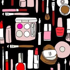 makeup // red pink magenta
