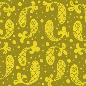 Bubble Fish in Mustard