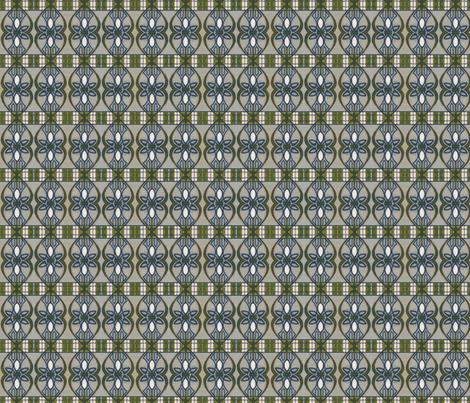 Paris Metro fabric by ingridrest on Spoonflower - custom fabric